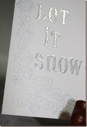 let it snow closeupcorner
