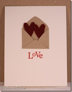 envelope love plain
