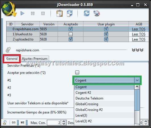 RapidShare - JDownloader