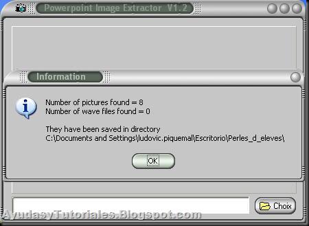 PowerPoint Extractor - AyudasyTutoriales