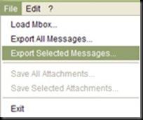 Mbox2eml - Exportar Mensajes - AyudasyTutoriales