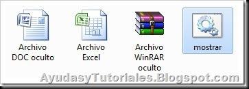 Mostrar archivos ocultos - AyudasyTutoriales