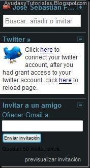 Gadget Twitter - AyudasyTutoriales