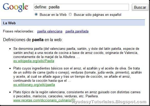 Funciones Google - 4 - Definición