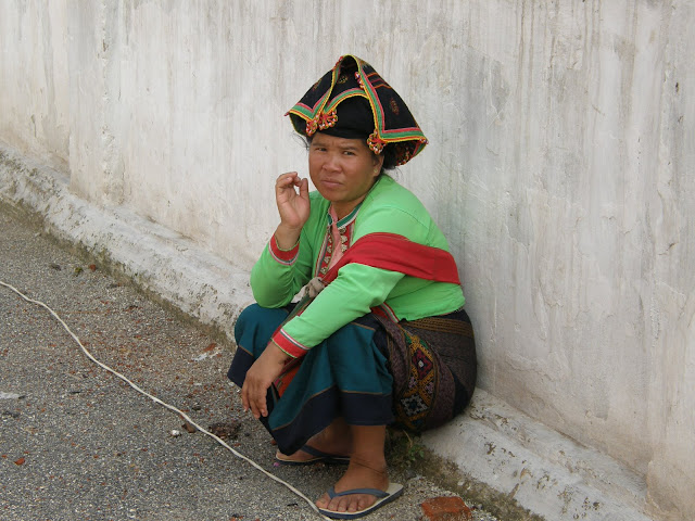 Laotańczycy
