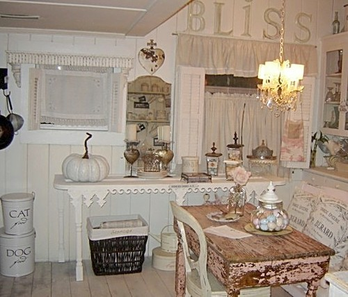 AMBIENTES: VINTAGE & CHIC, IDEAS PARA DECORAR.