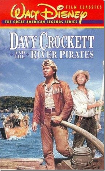 Davy Crockett River Pirates DVD Cover