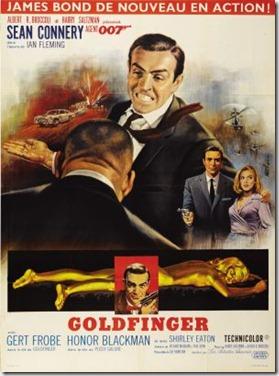 Goldfinger poster 7