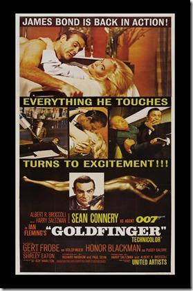 Goldfinger poster 14