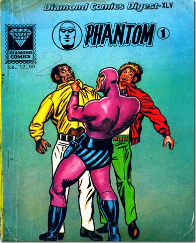 Diamond Comics 1st Phantom June 1990