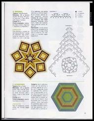 tapete estrela de sete pontas gráfico
