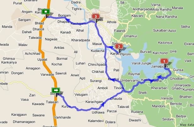 Bike ride to Dudhani, Silvassa - 16 bikes, 17 bikers and ...