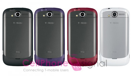 myTouch 4G In 4 Colors