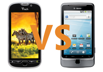 myTouch 4G vs Tmobile G2