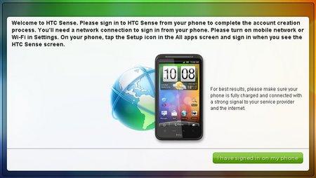 HTC Desire HD on HTCSense.com