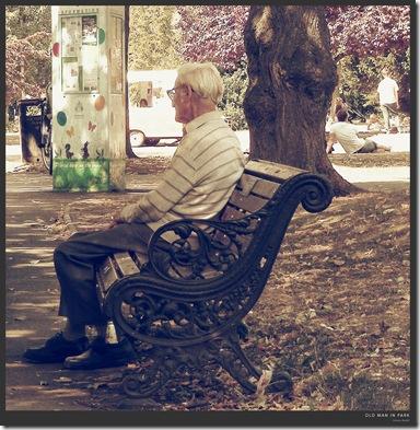 oldman in park