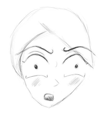 manga face 3