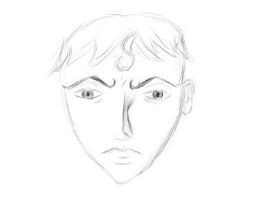face doodle