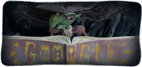Google Doodle Halloween 2013