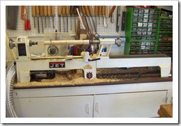 Mini lathe w-new bed extension