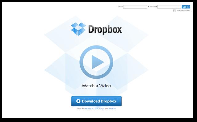 Dropbox網站