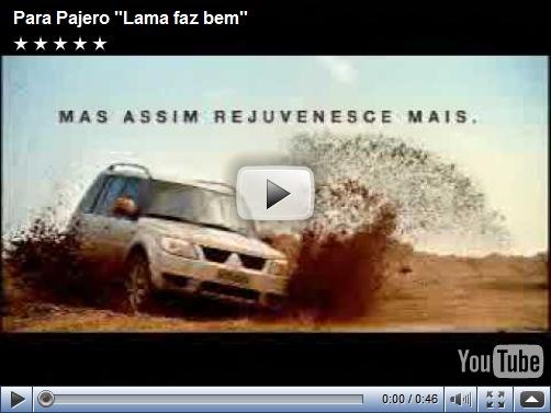 Video –  Comercial da Mitsubishi Pajero TR4 2010
