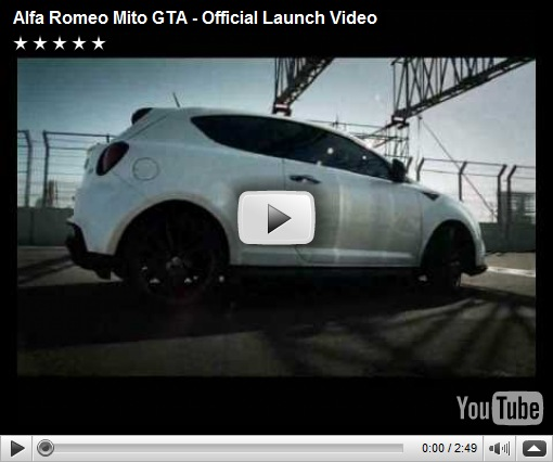 Primeiro video do Alfa Romeo MiTo GTA