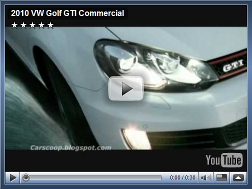 Primeiro comercial do Golf GTI europeu