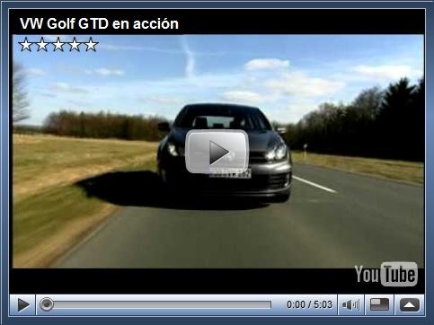 Primeiro vídeo do novo Golf GTD em ação