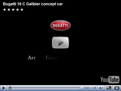 Video – Bugatti 16 C Galibier concept