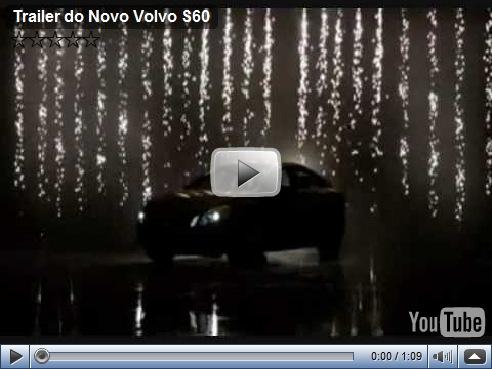 Volvo S60 é revelado pela Volvo em video