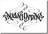Angels & Demons ambigram