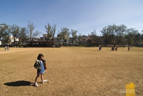 Burnham Park's Football Field