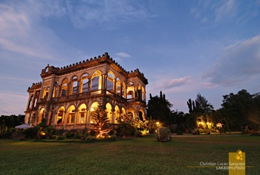 Afternoon View of Bacolod's The Ruins