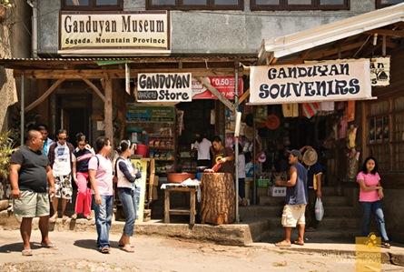 Ganduyan Souvenirs at Sagada