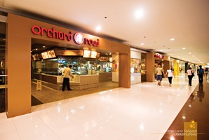 Orchard Road's Main Entrance at SM Megamall