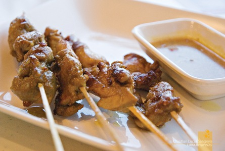 Satay Chicken at the Orchard Road