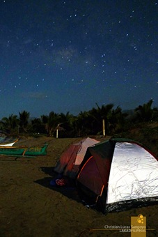 Camping Out Amongst the Stars at Abra de Ilog's Amazona Beach