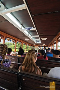 The Wooden Interiors of Corregidor's Tranvia