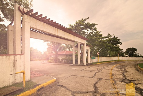 The Entrance to the Garden at Corregidor