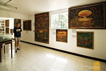 Inside the Museum in Corregidor
