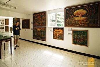 Inside the Museum in Corregidor