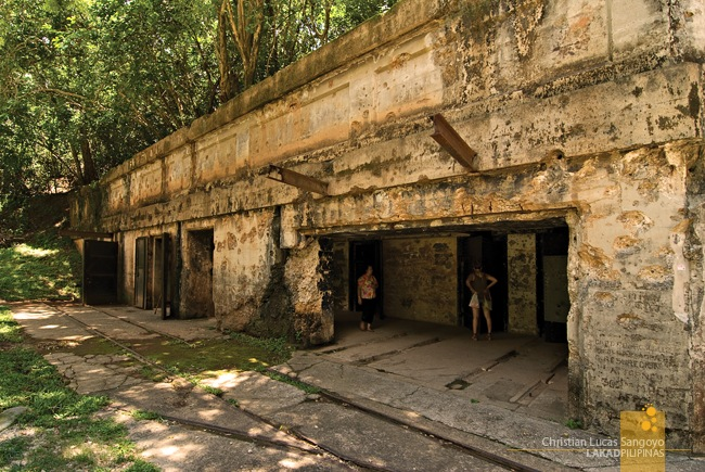 Corregidor's Battery Way Depot