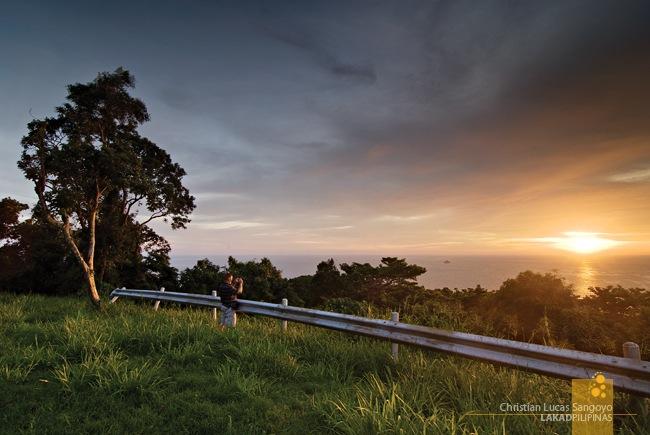 Sunset at Corregidor's Battery Grubbs