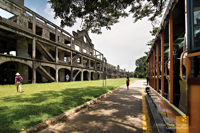 Corregidor's Mile Long Barracks