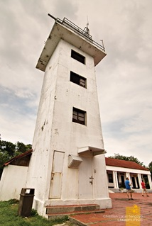 One of the Plaza's Tower at Corregidor's Lighthouse