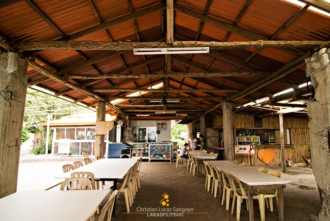 Corregidor's MacArthur Cafe Simple Eating Area