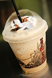 Tiramisu Frap (Php70.00) at Bacolod's Cafe Bob's