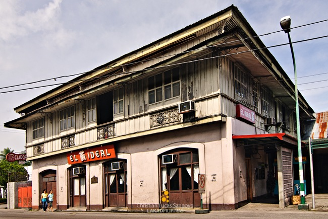 The Cesar Lacson Locsin Ancestral House where El Ideal's Current Home