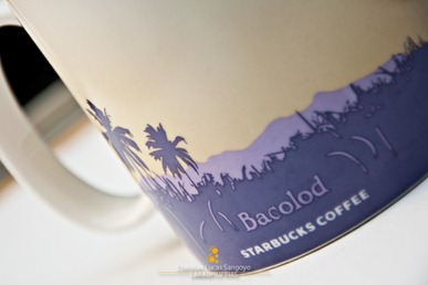 Bacolod Starbucks Global Icon City Mug Backside Detail